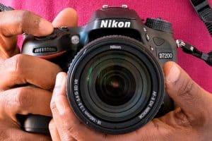 cámara de fotos réflex Nikon