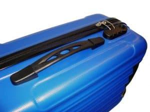 equipaje azul