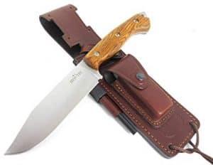 cuchillo de supervivencia con funda