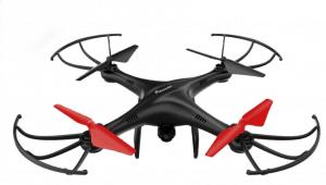 dron con cámara de iniciación