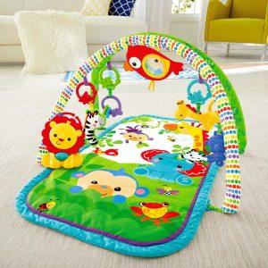 gimnasio para bebé con accesorios