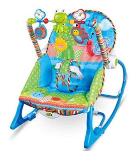 gimnasio para bebé de silla