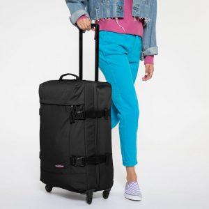 bolsa de viaje con ruedas negra