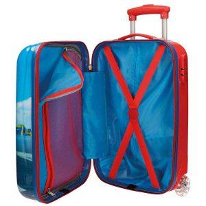 maleta infantil abierta