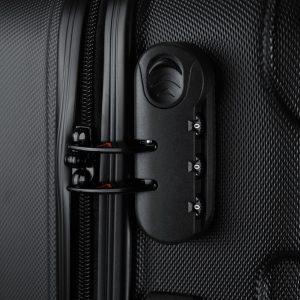 candado TSA de maleta rígida