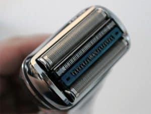 afeitadora eléctrica con cabezal plano