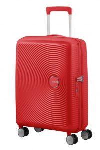 equipaje de cabina rojo