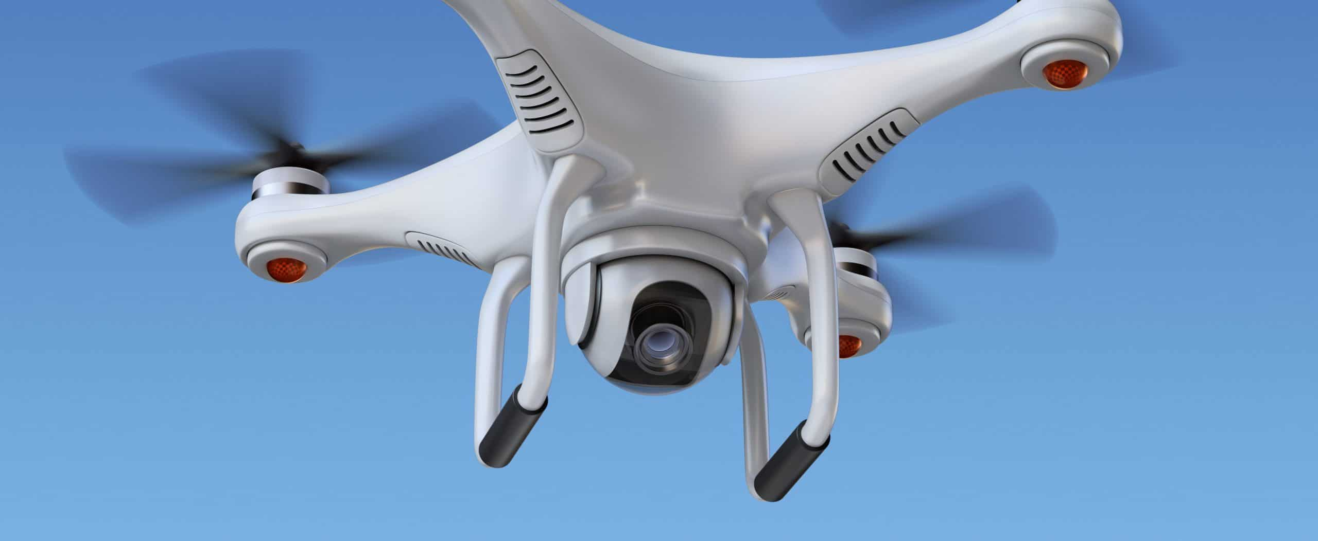 dron con cámara de calidad