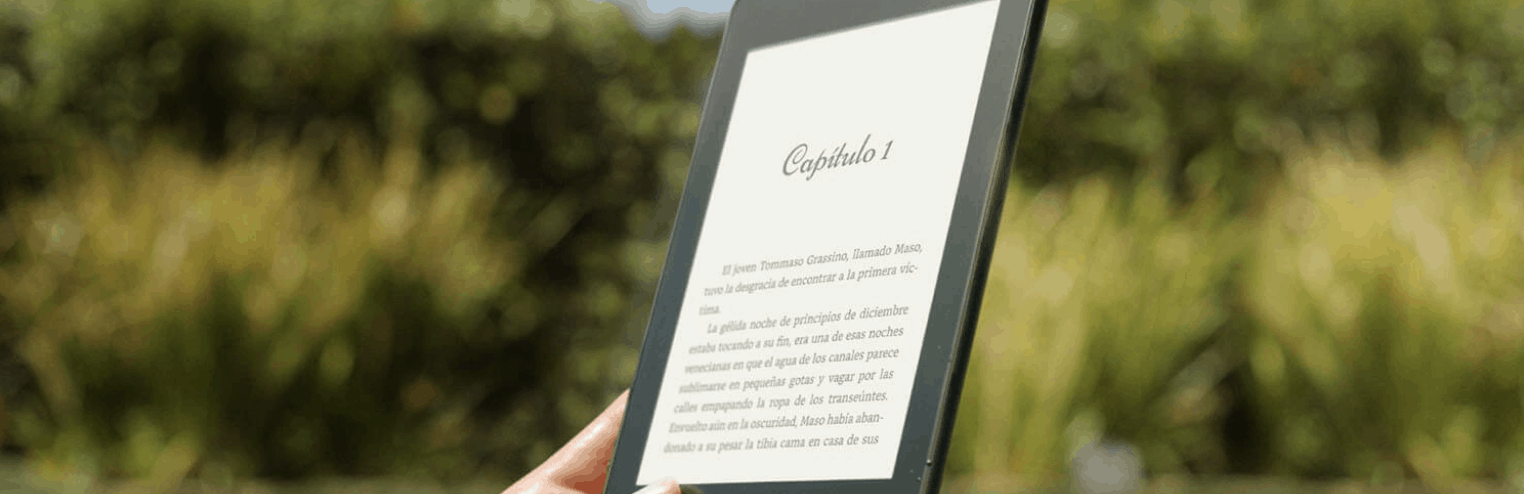 lector electrónico de libros bonito