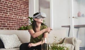 gafas de realidad virtual modernas