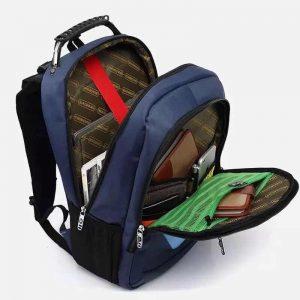 mochila abierta