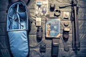 mochila para cámara y aparatos fotográficos