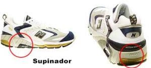 zapatillas de running supinadora