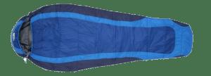 saco de dormir azul
