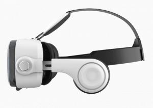 gafas de realidad virtual blancas