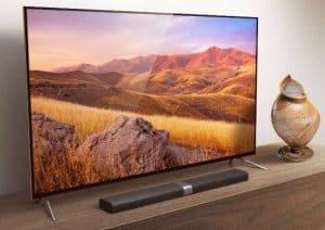 televisor 4k de gran tamaño