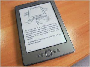 conectar un lector electrónico de libros