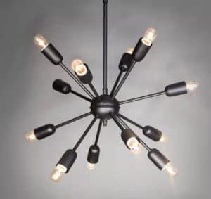 lampara araña moderna