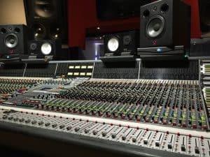 mesa de mezclas profesional