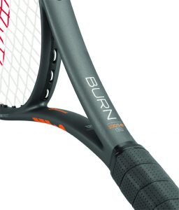 raqueta de tenis de cerca