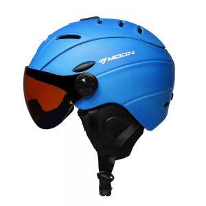 casco de esquí tradicional