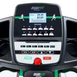 panel de control de una cinta de correr