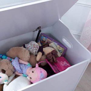 interior de un baúl para juguetes