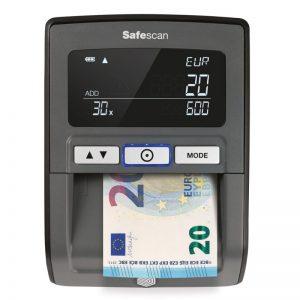 detector de billetes falsos magnético