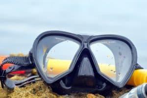 máscara de buceo de calidad