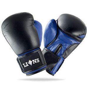 guantes de boxeo azules