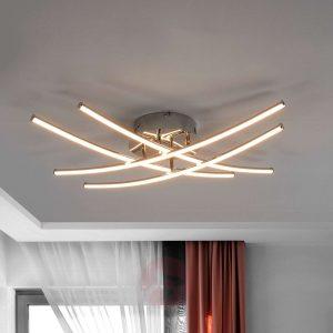 lámpara de salón con líneas