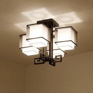 lámpara de salón de techo moderna