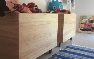 baúl para juguetes sin tapa