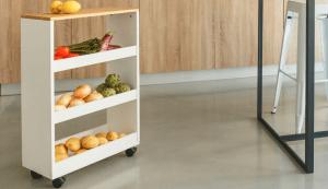 carro de cocina minimalista