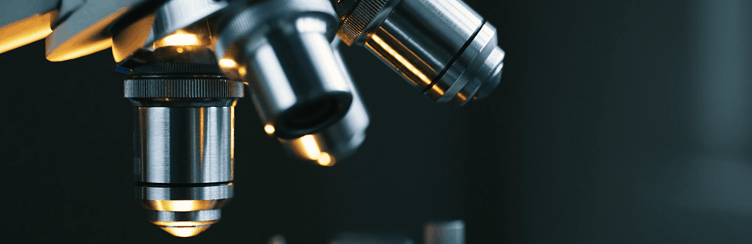 lentes de un microscopio