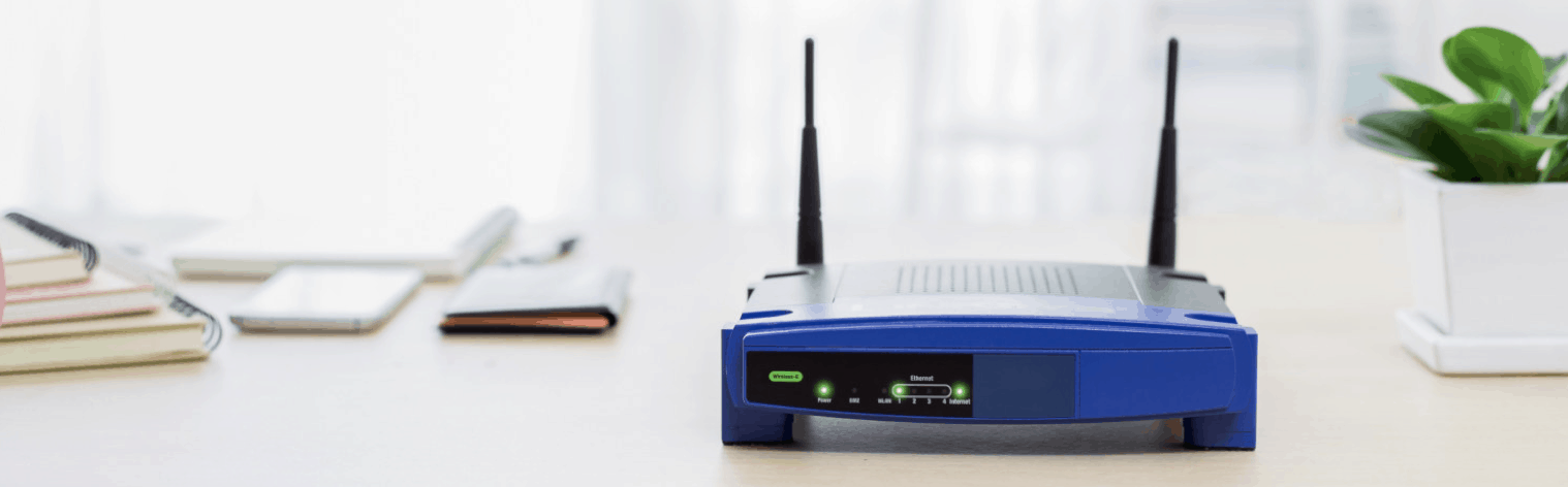 router wifi compacto