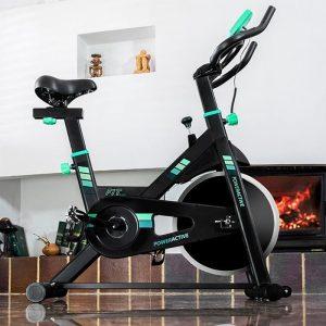 bicicleta estática moderna