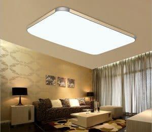 lámpara de salón de techo