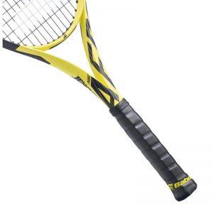 mango de una raqueta de tenis