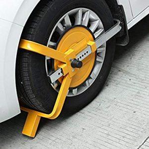 antirrobos para coche de rueda