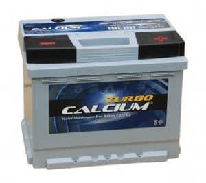 batería de coche de calcio