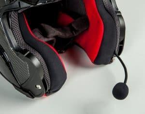 intercomunicador para casco conectado