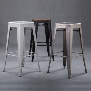 sillas altas sin respaldo