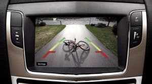 visión de una cámara trasera para coche