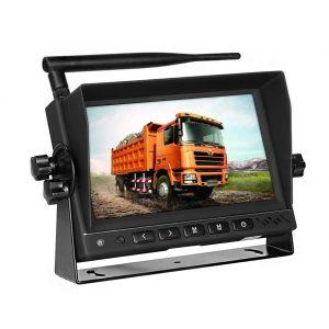 pantalla de cámara trasera para coche