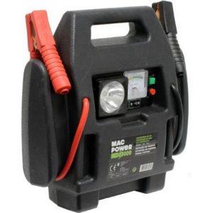 cargador de batería con arrancador