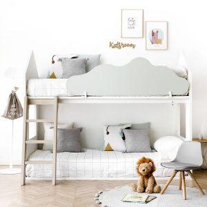 litera con barrera de cama