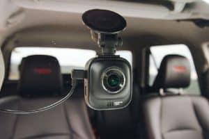 cámara trasera para coche en el cristal