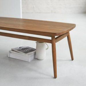 mesa baja minimalista