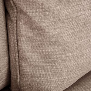 relleno de un sofá con chaise longue